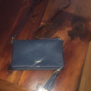 GIGI NEW YORK | leather satchel & iPad holder nwot